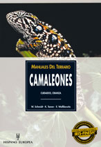 Manuales del Terrario Camaleones - Editorial Hispano Europea
