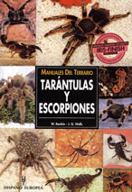 Manuales del Terrario Tarántulas y Escorpiones - Editorial Hispano Europea